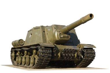 ISU-152 with road fragment