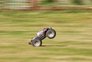 Speeding RC car
