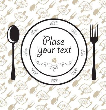Plate napkin