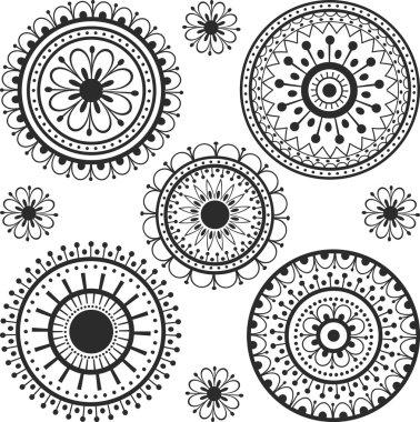 Tattoo in a circle