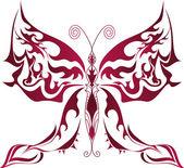 Fotografia farfalla rossa