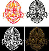 Photo Tribal ethnic religious mask