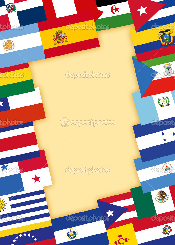 Spanish-speaking countries flags – Stock Editorial Photo © VLukas ...