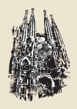 La Sagrada Familia sketch