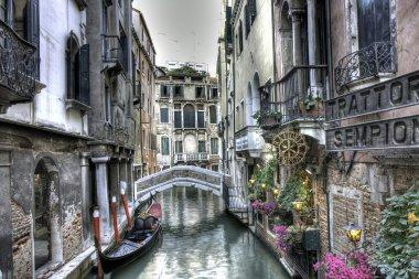Urban scene in Venice