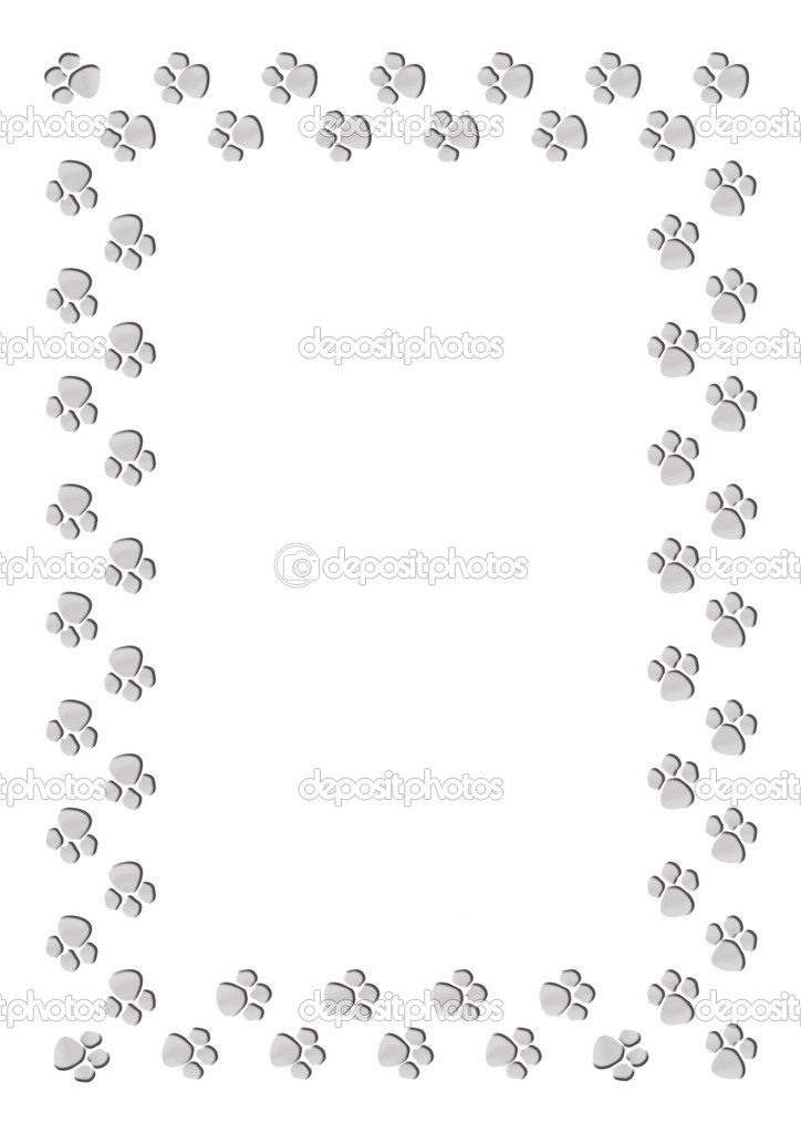 marco impresión pata — Fotos de Stock © martinased #10110610