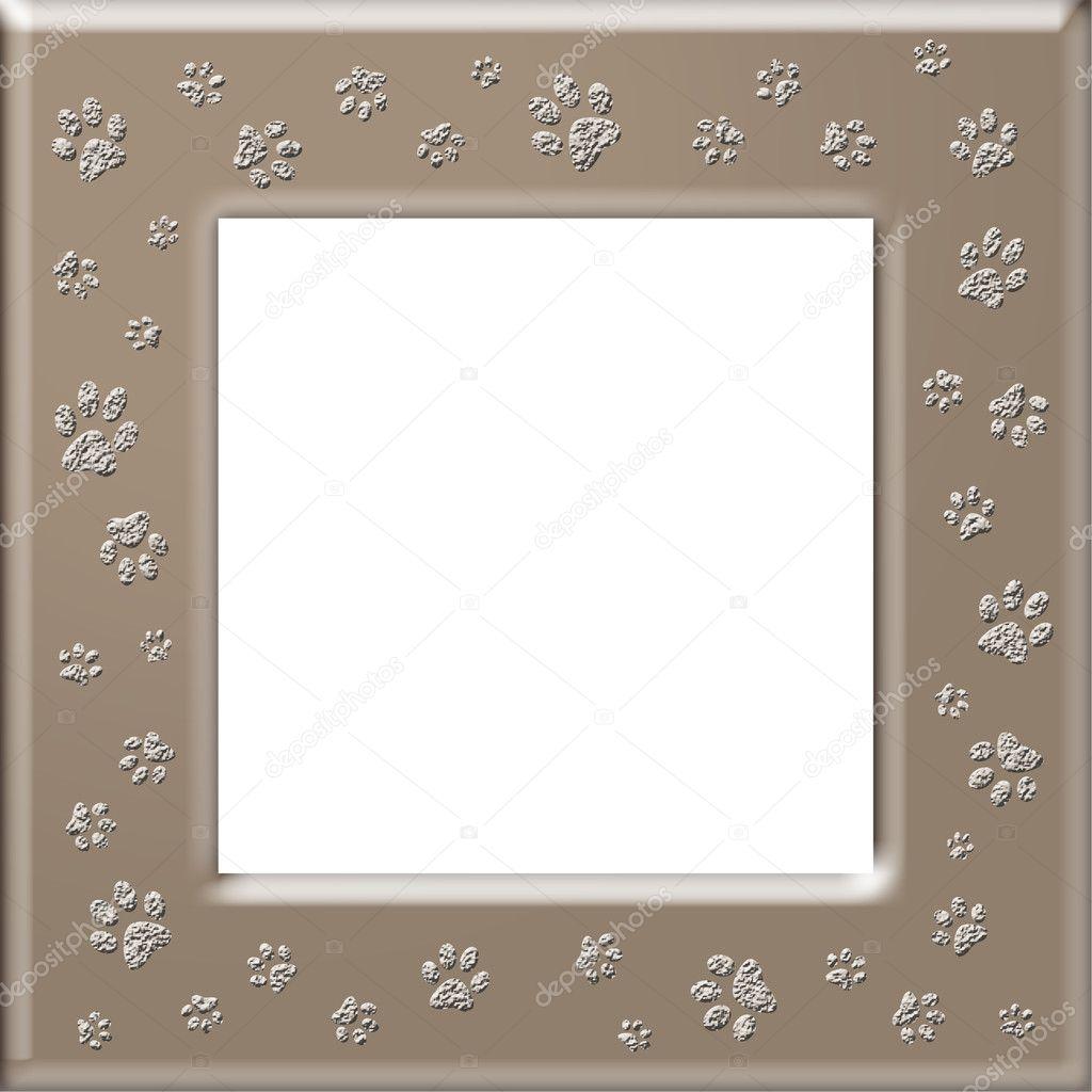 marco impresión pata — Fotos de Stock © martinased #10397171