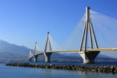 Rio - Antirrio Bridge, Patras, South Greece