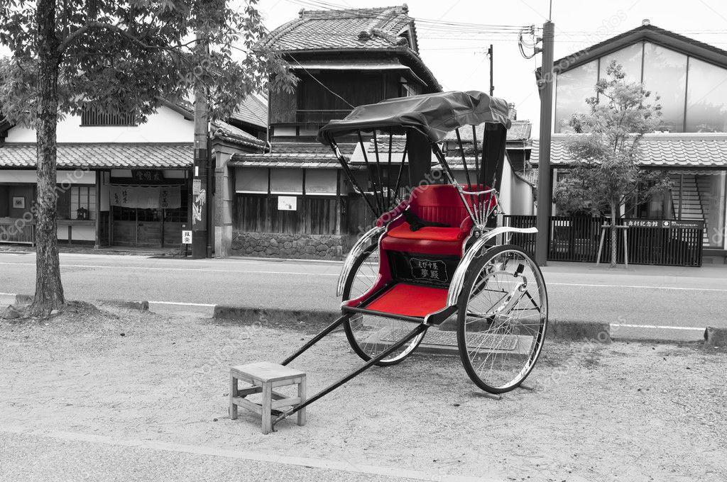 Rickshaw, Japanese transport — Stock Photo © Changered #10342835