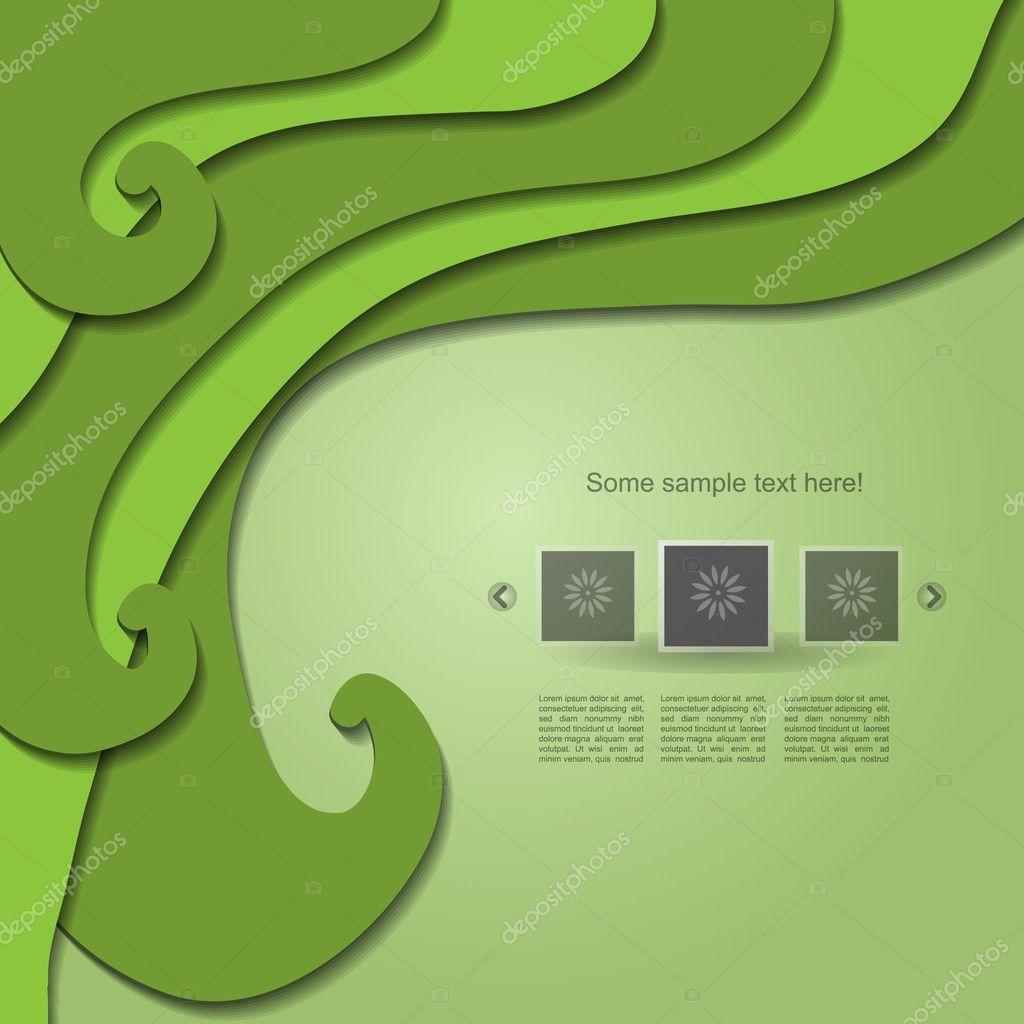 Green naure textures