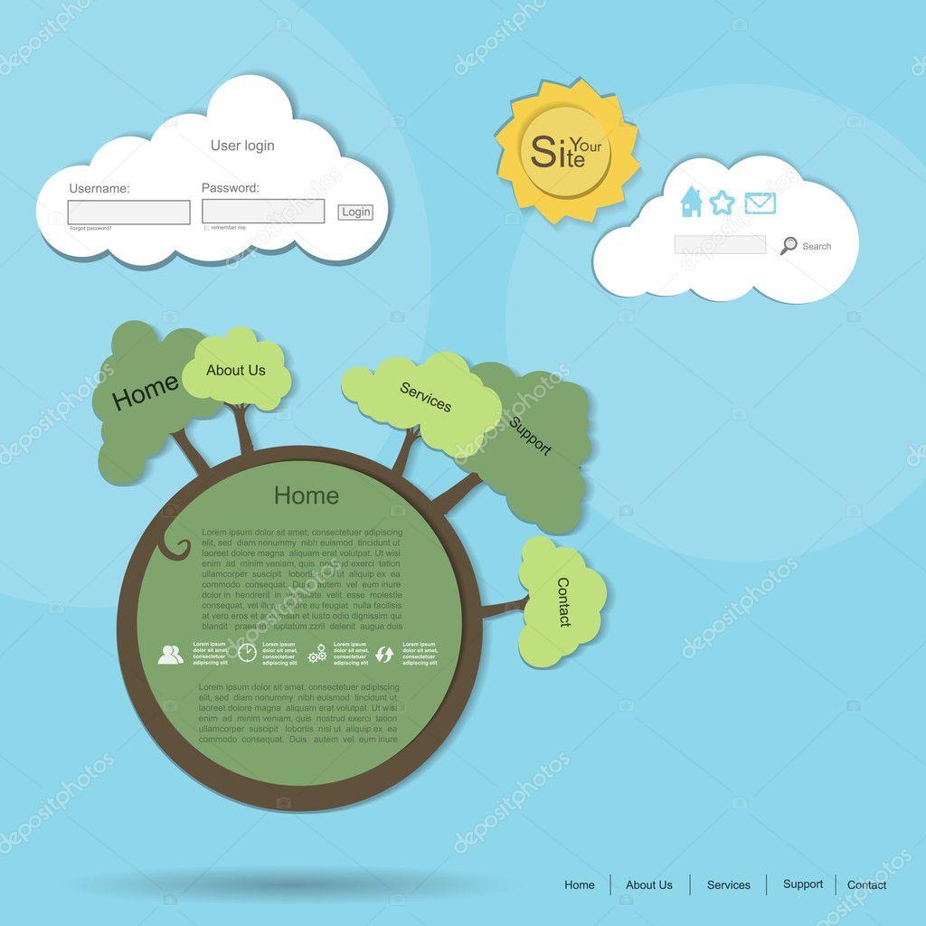 Nature vector web