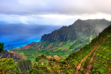 Kalalau Lookout, Kauai, HI.