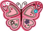 Fotografie Butterfly cartoon