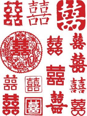 Oriental Element clip art vector