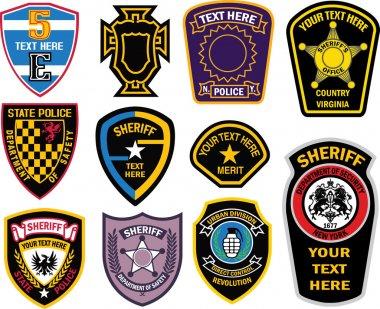 Heraldic emblem badge