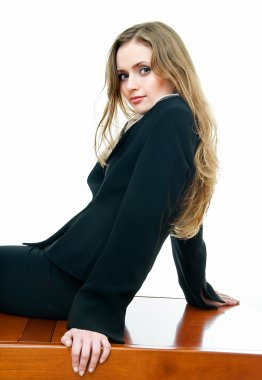 Look of young business lady