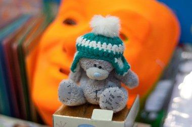 Teddy Bear in the header and rampant orange mask