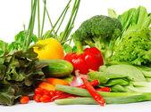 sok zöldséget
