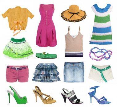 Summer clothes collection