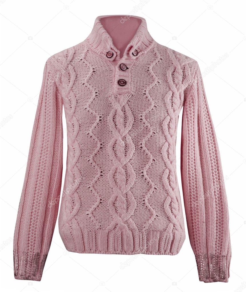 Roze Wollen Trui.Roze Wollen Trui Stockfoto C Evaletova 10508291