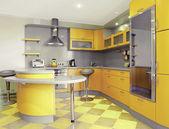 Fotografie moderní kuchyně