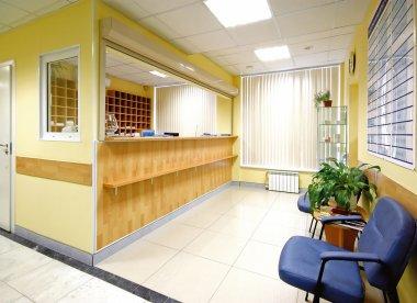 Hall of hospital