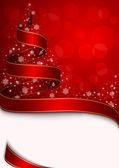 Fotografie Weihnachtsbaum mit Sternen und Schneeflocken