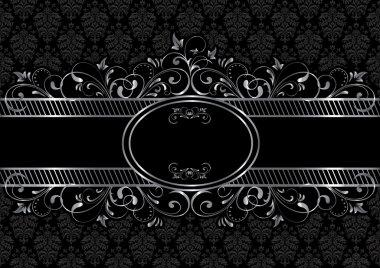 Black gothic background