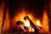 Fotografie kouzlo domů oheň
