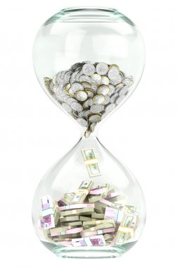 Creative business sand clock