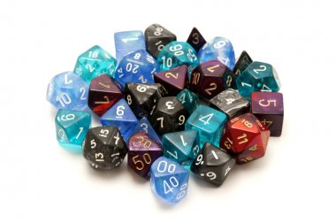 Role-playing dices