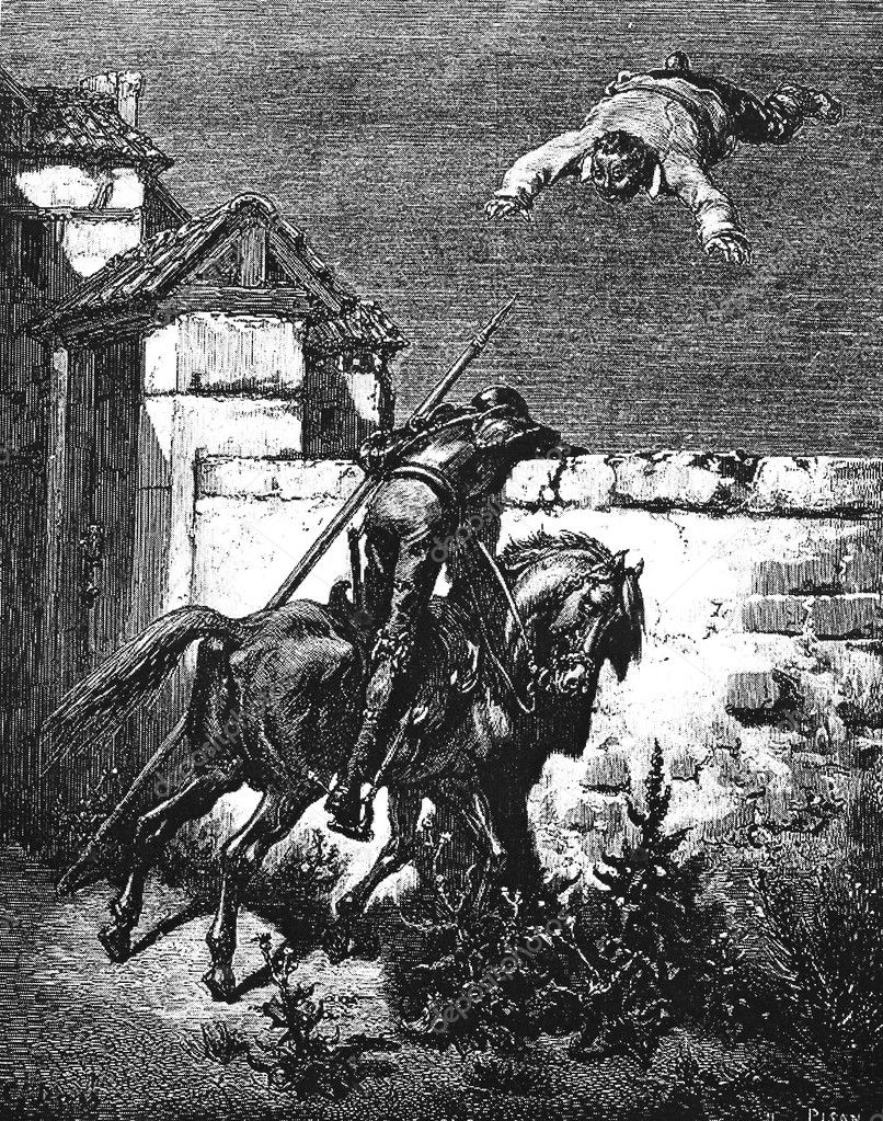 Don Quixote S Remonstrances Fail To Influence The Tossers Stock
