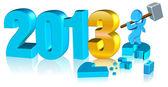 Fotografie šťastný nový rok 2013