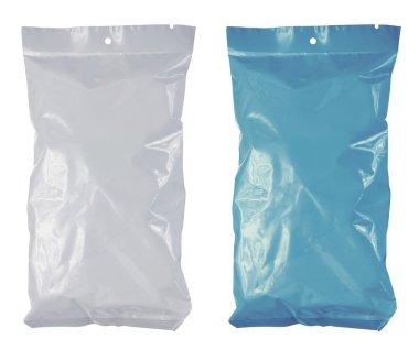 Snack chips plastic pack