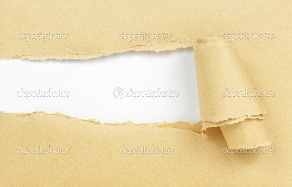 Burned cardboard paper frame — Stock Photo © odua #10567472