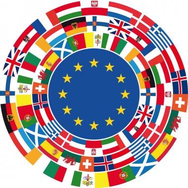 United Europe. Vector illustration