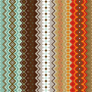 Ethnic pattern background.