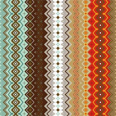 Ethnic pattern background.
