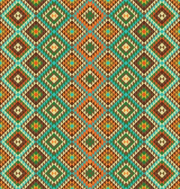 Ethnic pattern background
