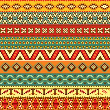 Various strips motifs in different color clip art vector