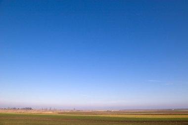 Clear Blue Sky Horizontal