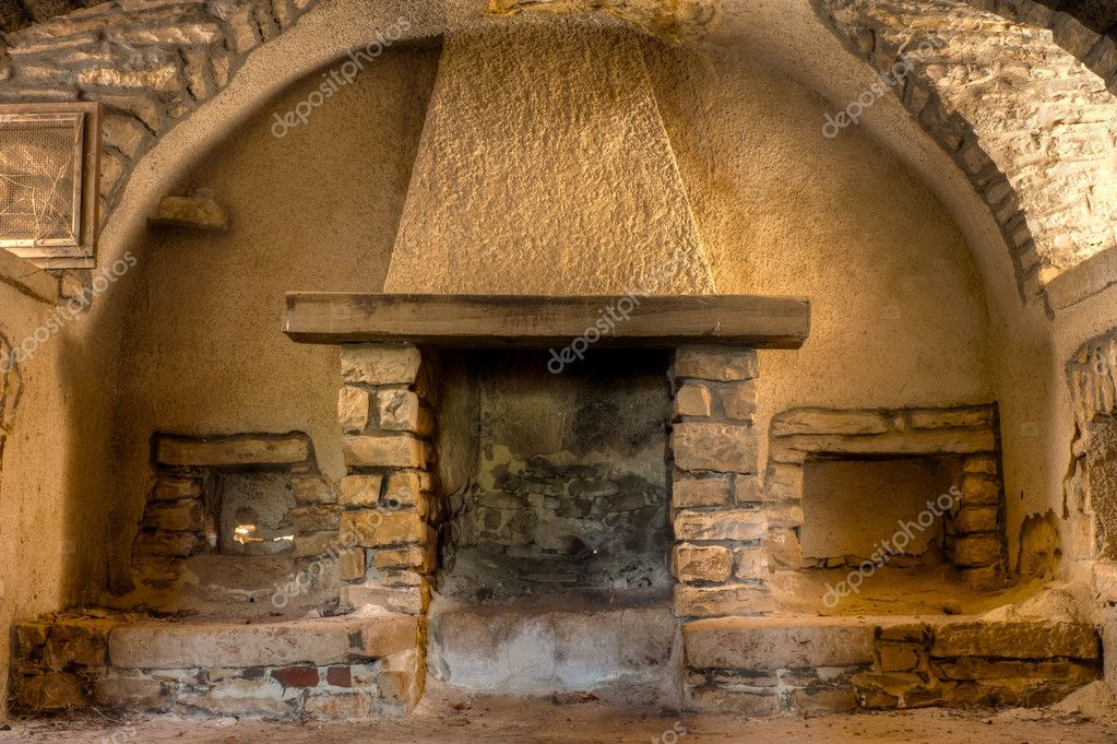 Old Fireplace Stock Photo C Mrkornflakes 10372603