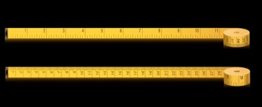 Measure tape - inches and centimeters