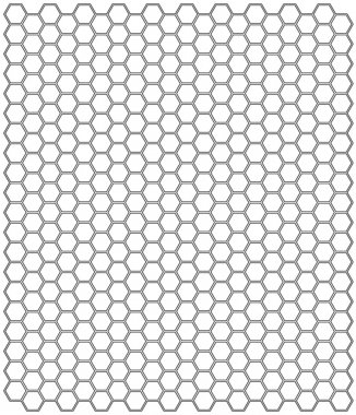 Hexagon background texture