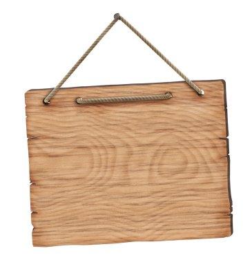 Blank wooden board