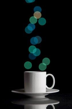 Bokeh coffee