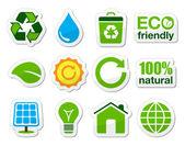 Photo Green / eco icons