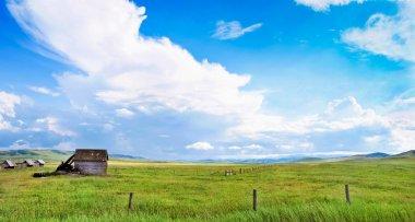 Prairie landscape in Alberta, Canada