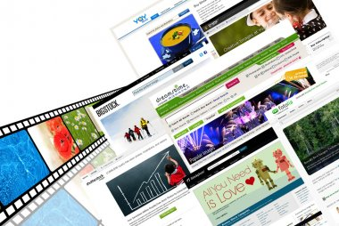 Stock photography websites