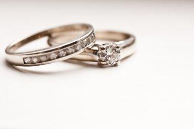 Sparkling Wedding Rings